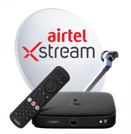 Airtel Xstream Box with 1 Month Maujan Hi Maujan HD Pack