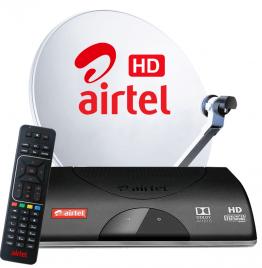 1 Month Airtel Hindi Mega Pack SD-GT With SD Box