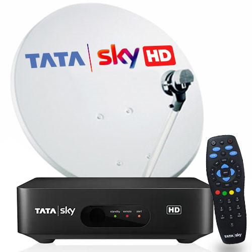 Tata Sky HD Box With 1 Month Telugu Metro SD Pack